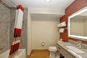 Red Roof Inn - Spacious and Well Appointed Bathroom